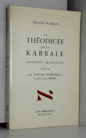 Théodicée de la kabbale