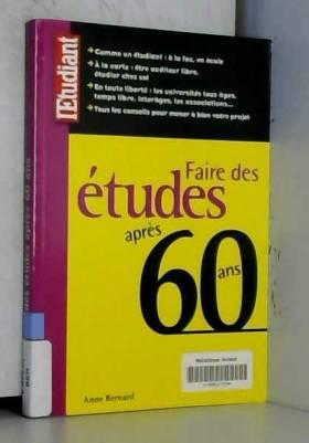 FAIRE DES ETUDES APRES 60 ANS
