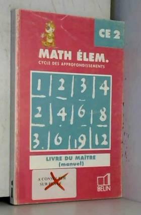 Mathématiques, CE2, manuel...