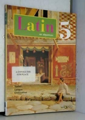Latin en séquences 5ème