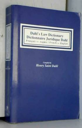 DICTIONNAIRE JURIDIQUE DAHL...