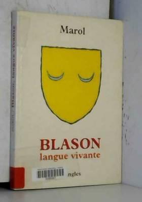 Blason, langue vivante