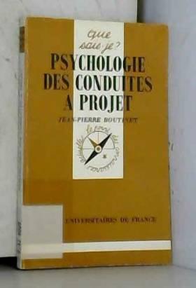 Psychologie des conduites à...