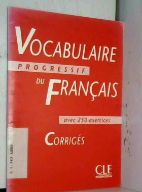 Vocabulaire progressif du...