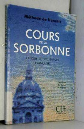 Cours de la Sorbonne,...