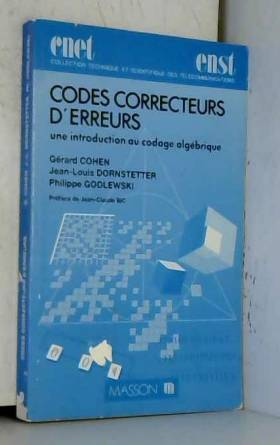 Codes correcteurs d'erreurs...
