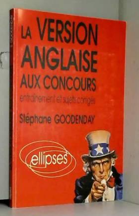 La version anglaise aux...