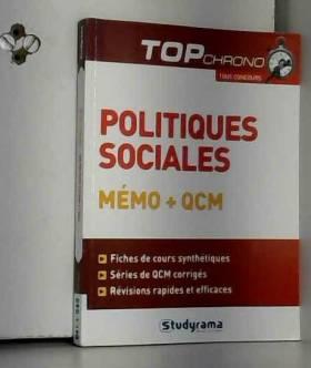 Politiques sociales : Mémo...