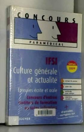 IFSI Culture générale et...