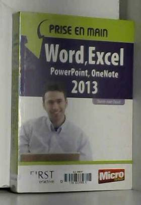 Prise en main Word, Excel,...