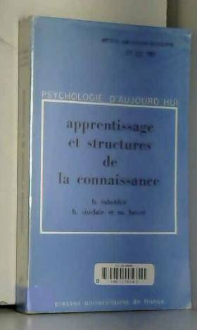 Apprentissage et structures...