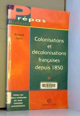Colonisations et...