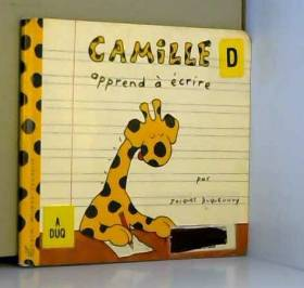 Camille apprend à écrire