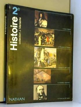 Histoire, 2de : Livre de...