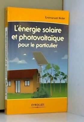 L'énergie solaire et...