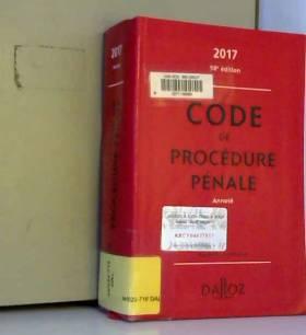 Code de procédure pénale...