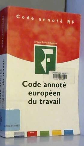 Code annoté européen du...