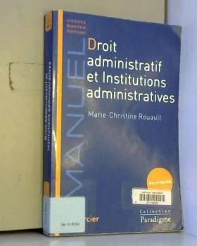 Droit administratif et...