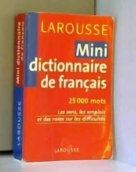Mini-dictionnaire de français