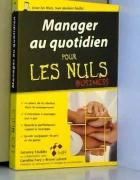 Manager au quotidien poche...