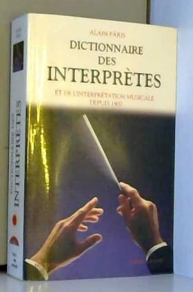 Dictionnaire des interprètes