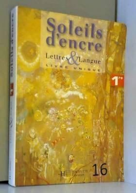 Lettres et langue 1e :...