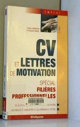 Cv et lettre de motivation...