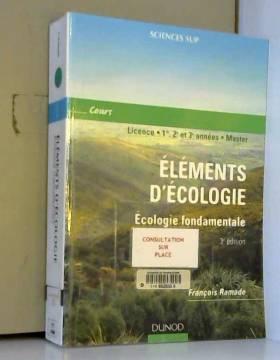 Élément d'écologie :...