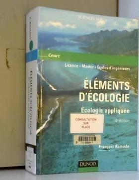 Écologie appliquée