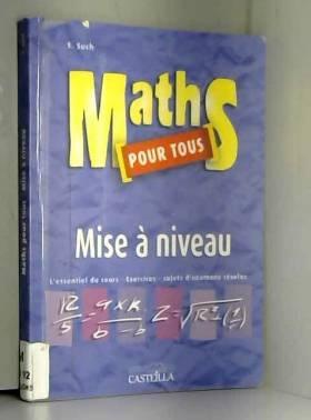 Maths pour tous : Mise à...