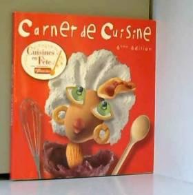 CARNET DE CUISINE. CUISINE...