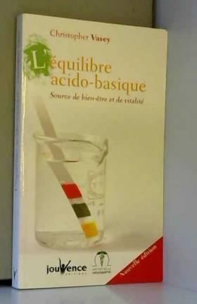 L'équilibre acido-basique :...