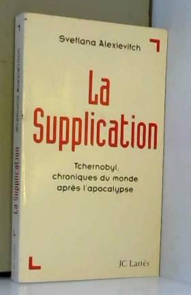 LA SUPPLICATION. :...