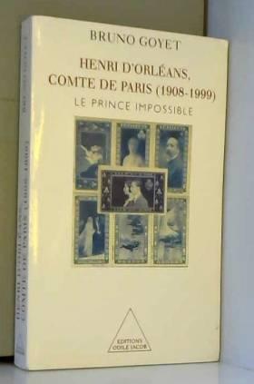 Henri d'Orléans, comte de...