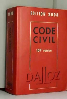 Code civil 2008