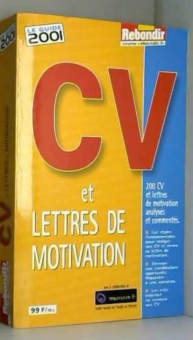 CV et lettres de...