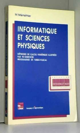 Informatique et sciences...