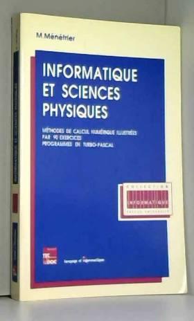 Informatique et sciences...