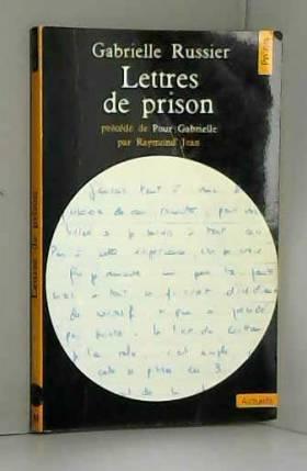 Lettres de prison...