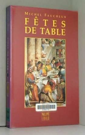 Fêtes de table