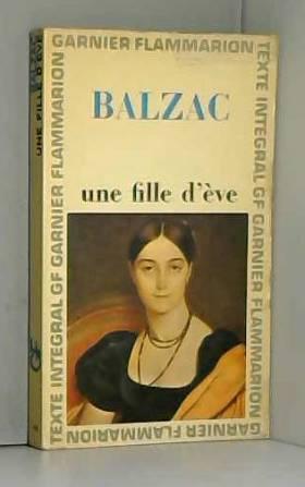 Honoré de Balzac. Une Fille...