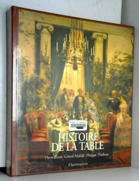 HISTOIRE DE LA TABLE. Les...