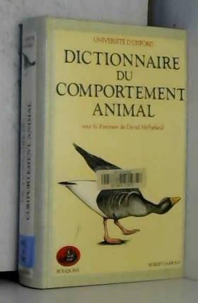 DICT DU COMPORTEMENT ANIMAL