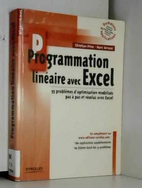Programmation linéaire avec...