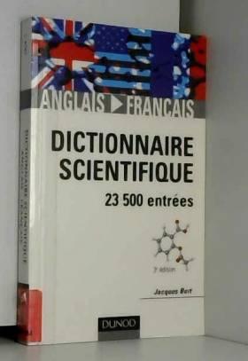 Dictionnaire scientifique...