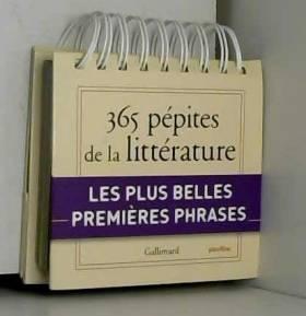 Calendrier Gallimard 365...