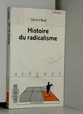 Histoire du radicalisme