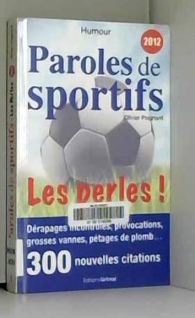 Paroles de sportifs : Les...
