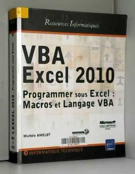 VBA Excel 2010 - Programmer...
