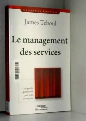 Le management des services...